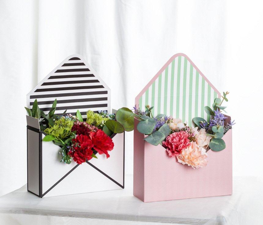셀프 웨딩 라이트 핑크 카네이션 조화 - 림드, 1,500원, 조화, 부쉬