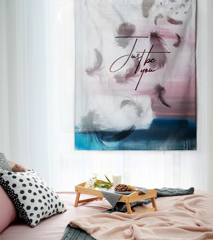 패브릭 포스터 태피스트리 가리개 커튼 저스트 비 유 대형 - 림드, 24,000원, 홈갤러리, 패브릭포스터