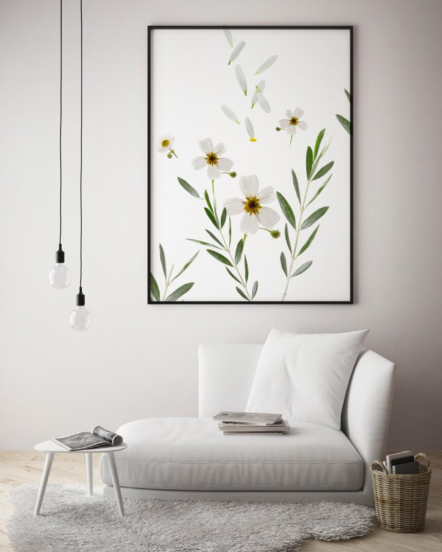 인테리어 액자 비앙코 피오레 - 림드, 15,000원, 홈갤러리, 캔버스아트